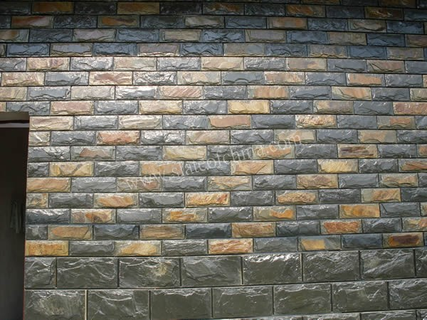 Slate Stone Elevation : Mushroom stone veneer slate factory china