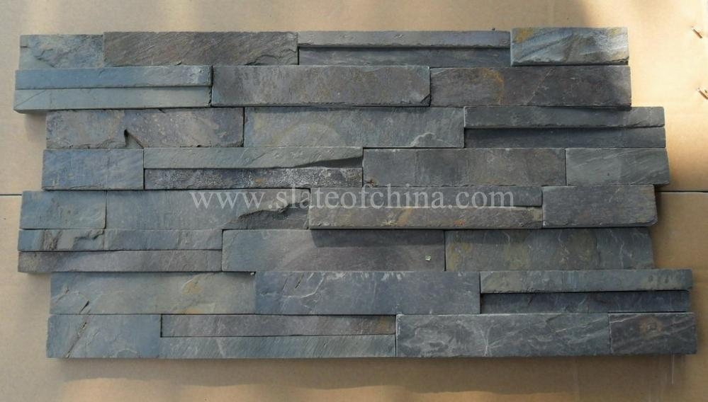 external slate wall tiles. thickness: abt 2--3.5cm. weight: 75kgs/sq.m. surface finishing: split, machine cut, natural surface, etc. usage: interior and exterior wall external slate tiles
