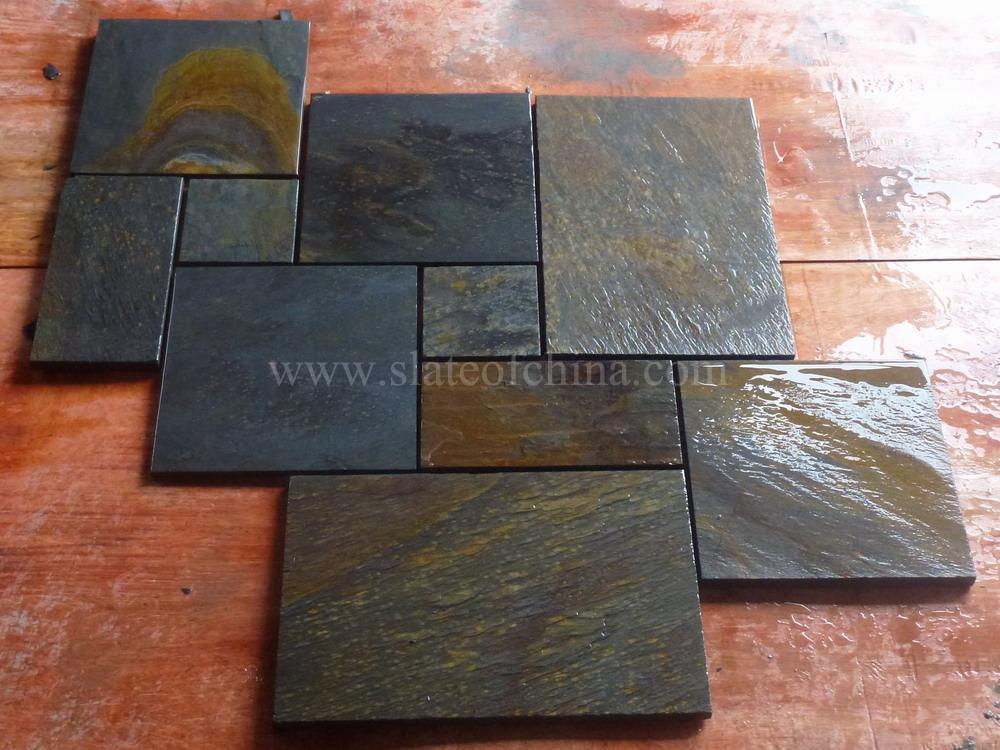 Rusty Slate Tiles Multicolor From Slateofchina Inquiry Online Ask By E Mail