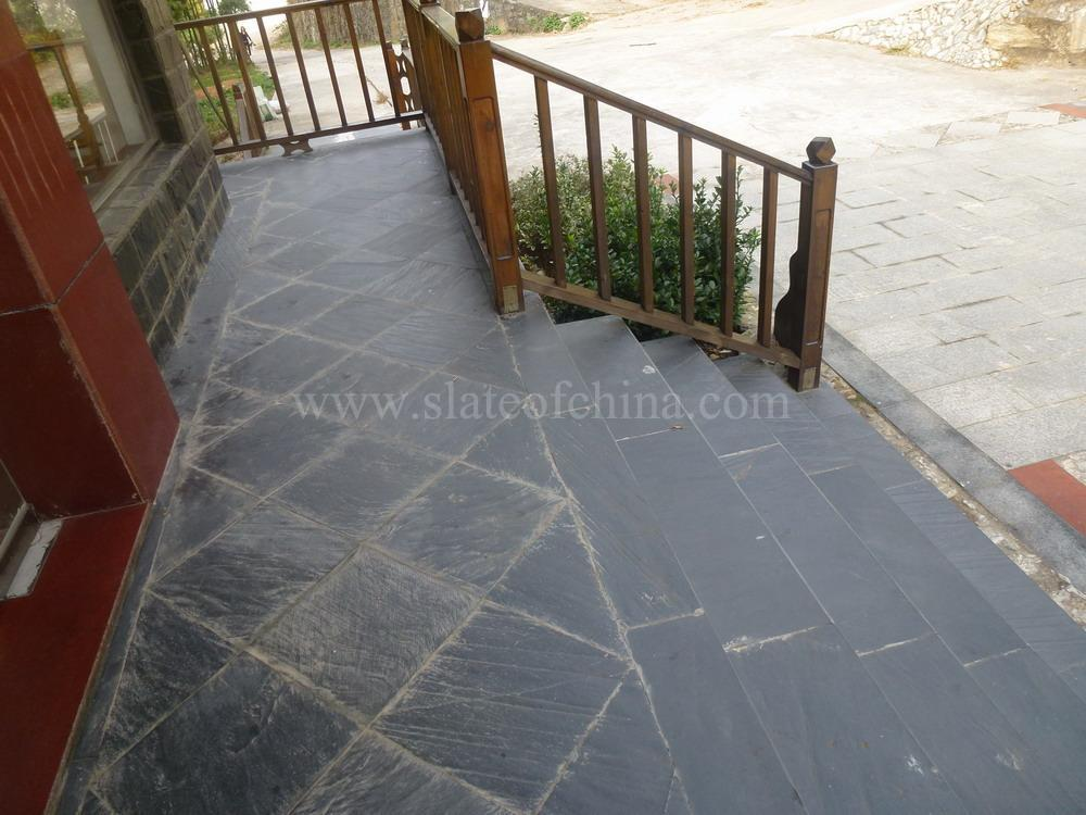 Natural split patio slate tiles,cheap garden patio slate tiles for ...