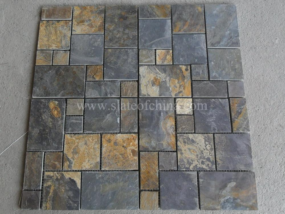 Slate Mosaic Tile Pattern Inquiry Online Ask By E Mail