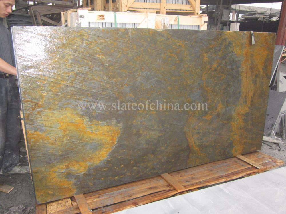 Slate Stone Slabs : Slate hearth with top quality and cheap price