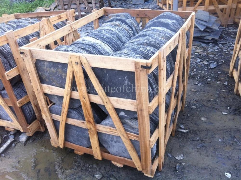 Marvelous Slate Round Decorative Garden Stepping Stones, Natural Garden Stepping Stone  Inquiry Online Ask By E Mail