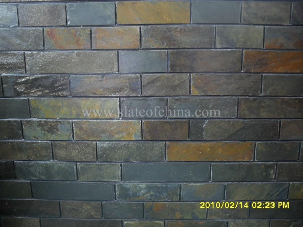 Slate Stone Facade For Interior And Exterior Decoration